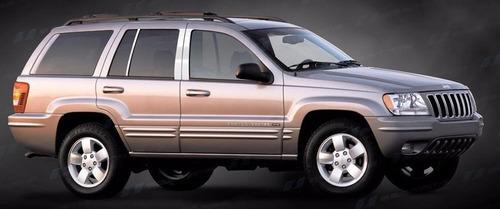 molduras pilar / poste puerta jeep grand cherokee 1999 2004