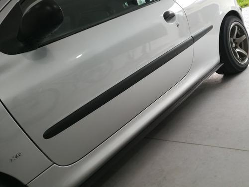 molduras puertas delanteras peugeot 206