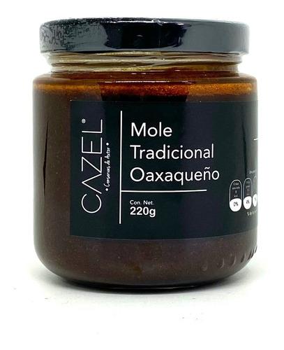 mole oaxaqueño especial con frutos secos en pasta 220g