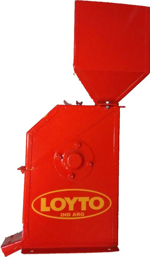 moledora de granos n°3 loyto 2000kg/h electrico.