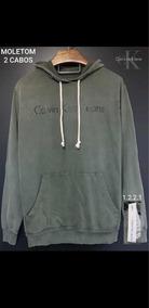 3a2ef855cb51c4 Moletom 2 Cabos Calvin Klein