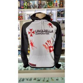 e17ff83f0 Blusa Moletom Resident Evil Umbrella Corporation C  Capuz