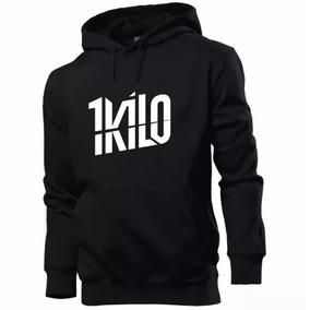 17a4f03a6 Blusa Moletom 1 Kilo Banda Hip Hop Rap Top Casaco Moleton