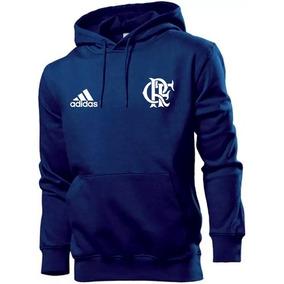 b695f863ca1fe Casaco Cinza Flamengo - Moletom Masculinas no Mercado Livre Brasil