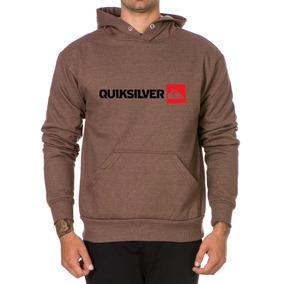84580ccefdac4 Moletom Mascul Blusa De Frio Capuz Quicksilver Tecido Grosso