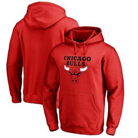 053a61324723d Casaco Moletom Blusão Capuz Chicago Bulls Basquete Nba