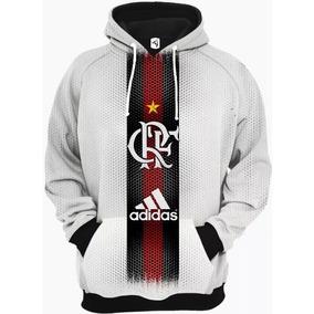 2273c35c607c1 Blusa De Frio Do Flamengo Branca E Vermelha - Moletom Vermelho no Mercado  Livre Brasil