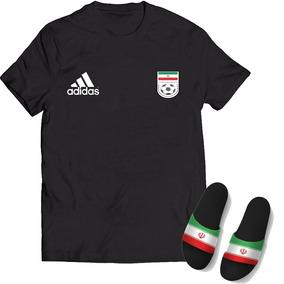 853234765aced Kit Camisa + Chinelo Slide Seleção Irã Copa Do Mundo 2018 · 3 cores