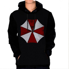 933d2d55c Casaco Blusa Moletom Resident Evil Umbrella Corporation Jogo