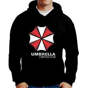 d59c5ad42 Umbrella Corps Moletom - Moletom Preto no Mercado Livre Brasil