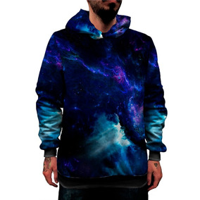 cc70df561 Blusa Moletom Galaxia Nebulosa Tumblr Alien Visual Pop Cores