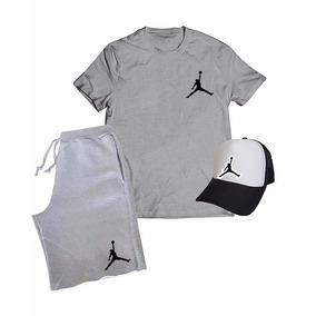 d5745cf926436 Kit Adidas Masculino Bermuda + Camiseta + Boné - Calçados