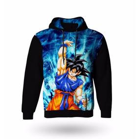dfedb2572c Blusa Moletom Infantil Manga Longa Dragon Ball Z Goku Casaco