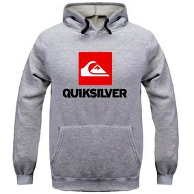 6722549562445 Blusa Frio Moleton Quiksilver Skate Surf Masculino Feminino