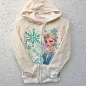 ade243e83a1 Agasalho Fofinho Com Capuz Elsa Frozen - 4 5 Anos