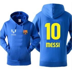 5951bb2e942c5 Blusa Moletom Canguru Barça Barcelona Messi Time