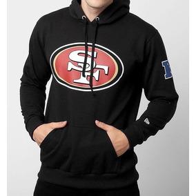 e46e0db70f341 Blusa Moletom New Era Nfl San Francisco 49ers Com Capuz