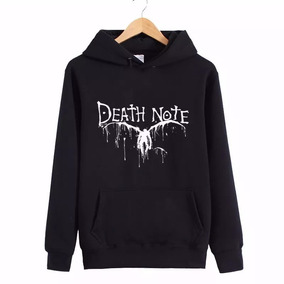 7ce991382 Blusa Moletom Casaco Blusão Death Note Anime L