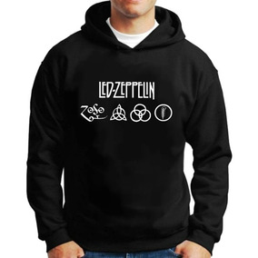 6dea194c9 Moletom Led Zeppelin Casaco Banda Blusa Frio Frete Grátis