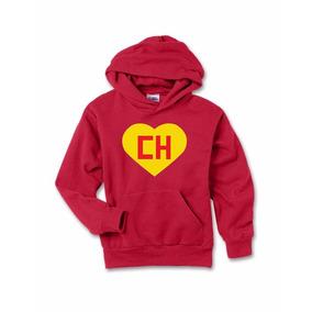 fe7e5c8f2 Blusa Moletom Infantil Chapolin Colorado Logo Chaves Canguru