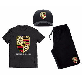 e553c3b272beb Kit Moletom Boné Trucker Camisa Camiseta Carro Porsche Cav