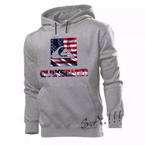 8ca752cbf5f9b Blusa Moletom Quiksilver Usa America Eua Casaco De Frio Mod2