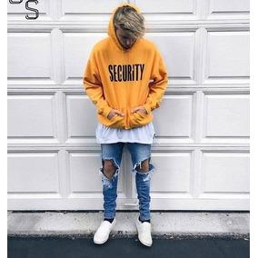 ce85fa3212ca3 Blusa Moletom Security Justin Bieber Purpose Tour Unissex