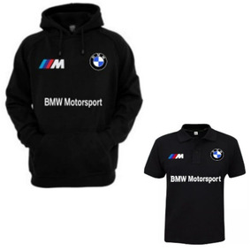 d1bb827b7fa04 Kit Moletom De Frio Bmw Motorsport + Camiseta Blusa Moleton