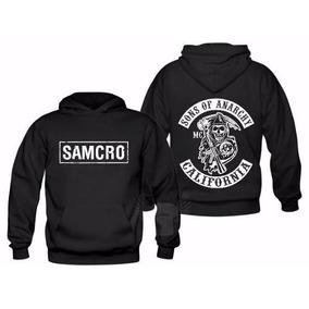 d0acac382 Canguru Moletom Samcro Sons Of Anarchy Blusa Agasalho
