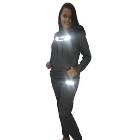 3a67099c67b8a Conjunto Moletom Feminino Oakley Refletivo Casaco E Calça