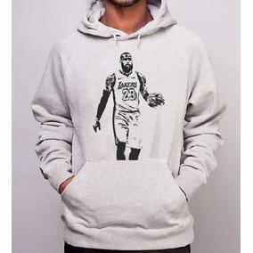 76ed09a8a Moletom Lebron James Los Angeles Lakers Blusa Canguru