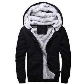 Blusa Jaqueta De Frio Masculina Com Capuz Forro De Lã Top - Calçados ... 9fbe9b2d243ad
