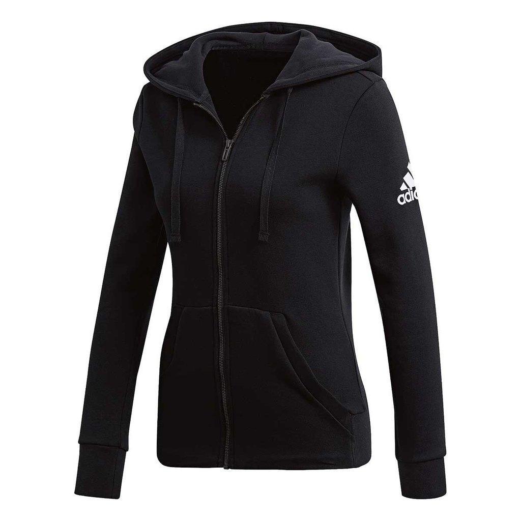 433272f98 Moletom adidas Ess Solid Fz Hd Black Feminino S97085 - R$ 219,00 em ...