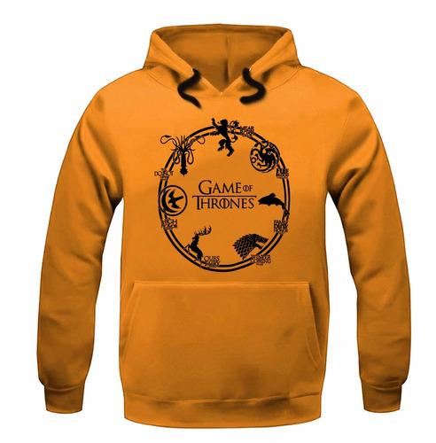 moletom blusa de frio casaco série game of thrones stark