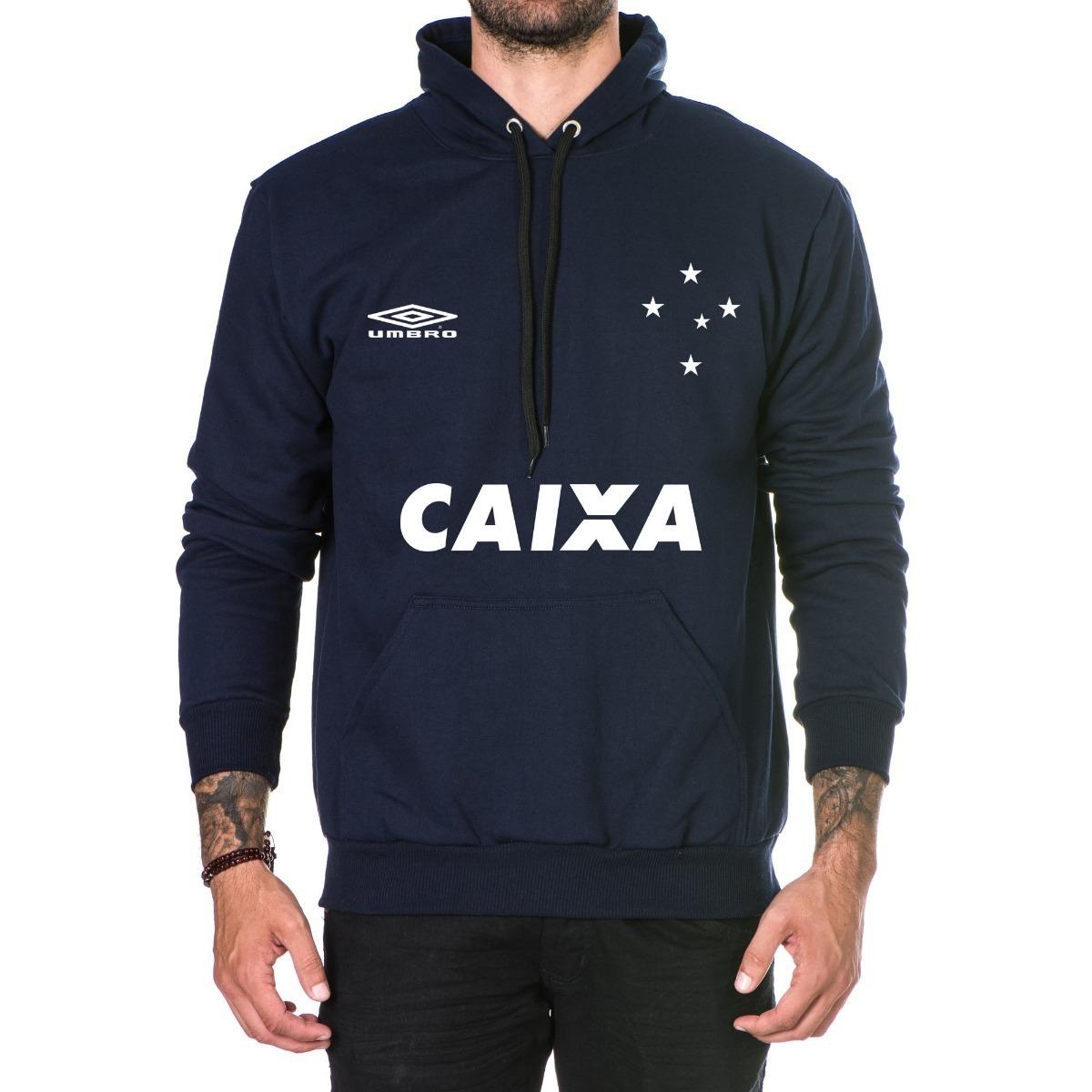 moletom blusa frio masculino times cruzeiro casaco top 2018. Carregando  zoom. 6be4eb02b42b8