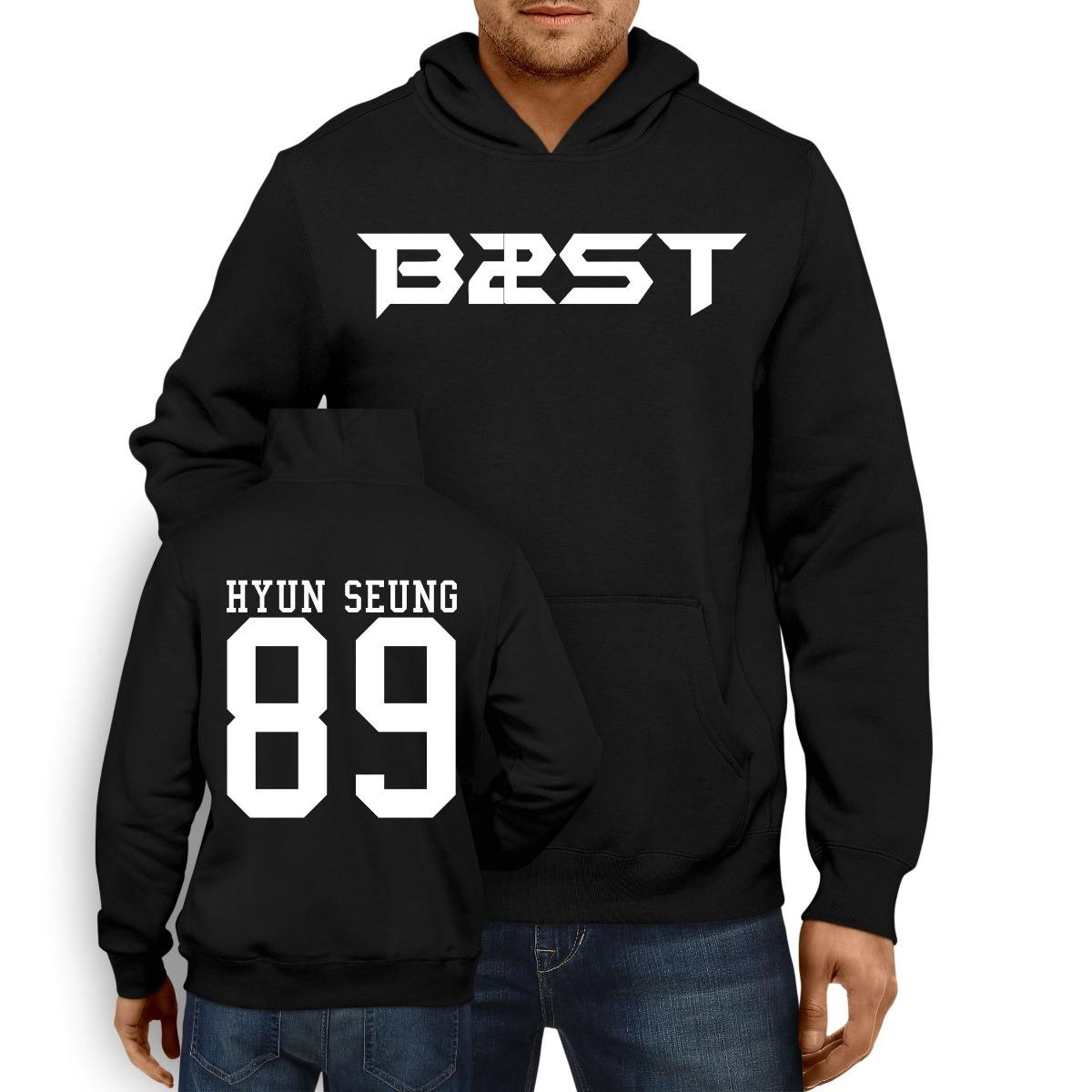 2cc580d059 Moletom Blusão Casaco Blusa Moleton K-pop B2st Hyun Seung 89 - R  59 ...