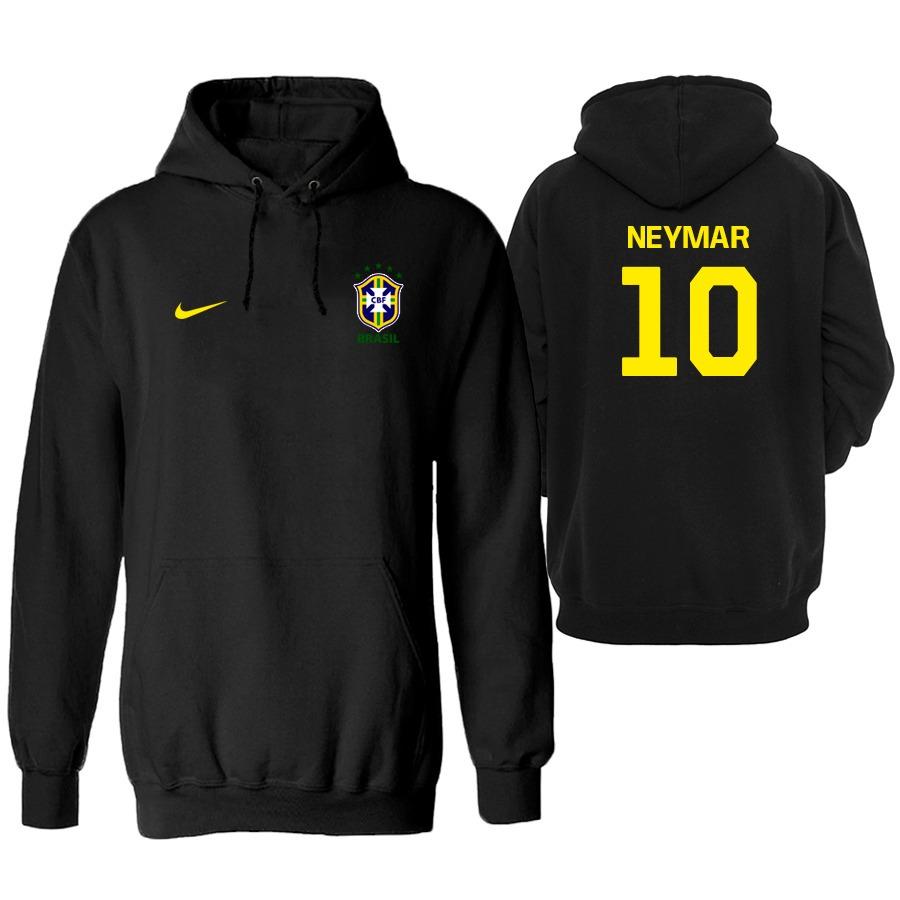04bbae145e moletom brasil seleção copa 2018 neymar blusa casaco  26. Carregando zoom.