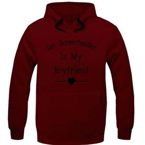 7902c44309 Moletom Canguru Blusa De Frio Excelente Ian Is My Boyfriend