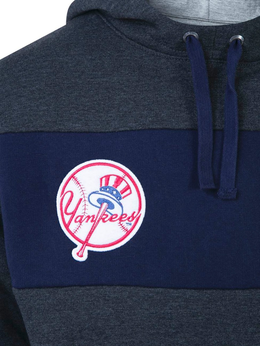 moletom canguru fechado new york yankees mlb new era 36479. Carregando zoom. 6c41a2b7ce9