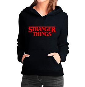 838c5df4b Moletom Canguru Feminino Stranger Things Seriado Filmes