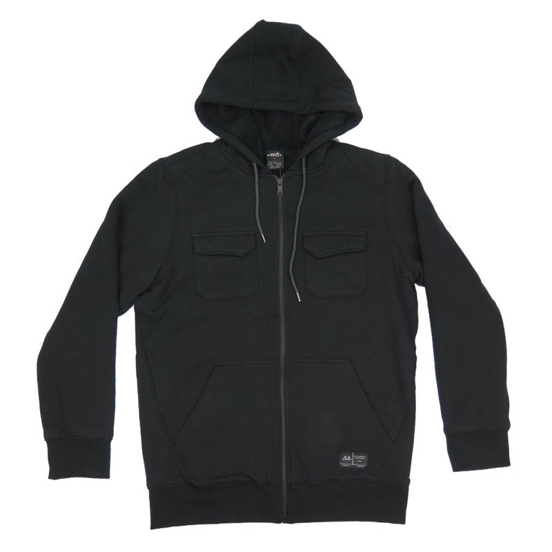 1a24aa54b68d3 moletom canguru oakley agent hoodie black. Carregando zoom.