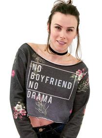 6249002d3e Moletom Cropped Sommer Boyfriend Feminino