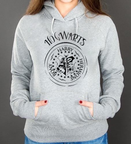 Moletom Hogwarts Harry Potter Blusa Canguru Feminino  R$ 79,50 em Mercado Livre -> Banheiro Feminino Harry Potter