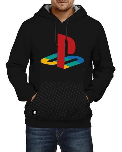 moletom masculino / feminino playstation ps colorido