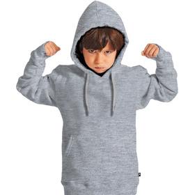 Moletom Moleton Infantil Blusa De Frio Casaco Liso Ele E Ela