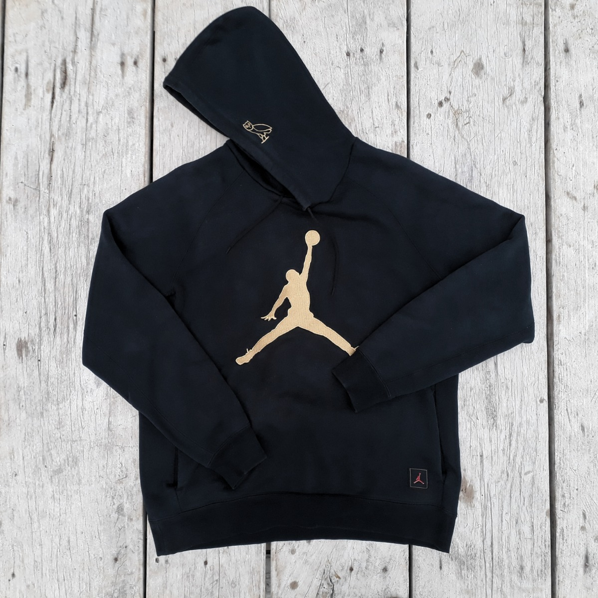 944357d41b2 Moletom Nike Air Jordan X Ovo Drake Octobers Very Own Preto - R ...
