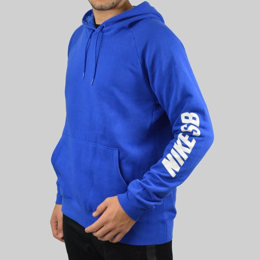 f981fc90f0 Moletom Nike Sb Icon Yard Azul/branco - R$ 289,90 em Mercado Livre