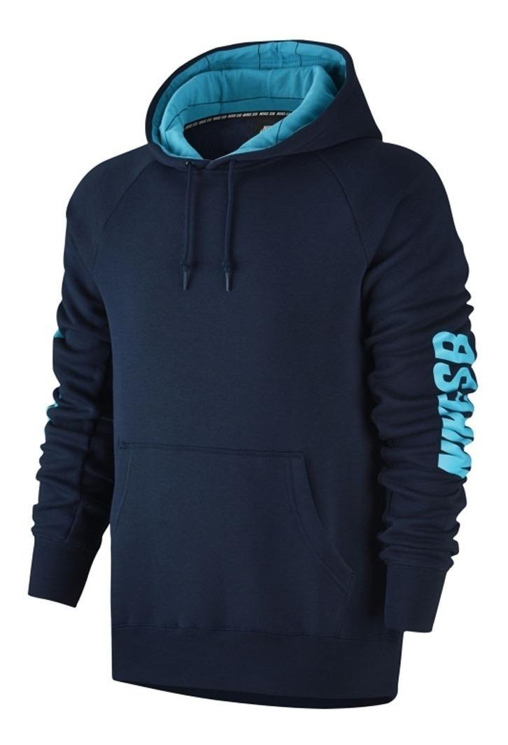 878f101b05 Moletom Nike Sb Icon Yard Marinho/azul - R$ 289,90 em Mercado Livre
