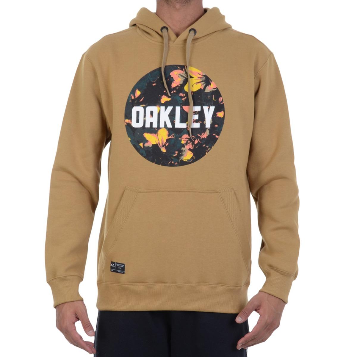 moletom oakley surface graphic bege. Carregando zoom. 8809dc91b44d4