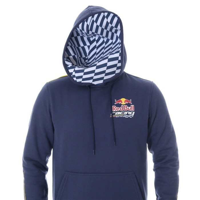 Moletom Rbr Sc Dynamic Red Bull Azul Marinho - R  199 4e331bbefb9